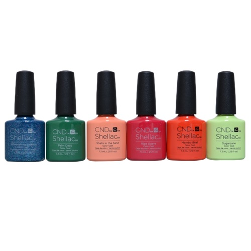 Rhythm and Heat Shellac collection bottles